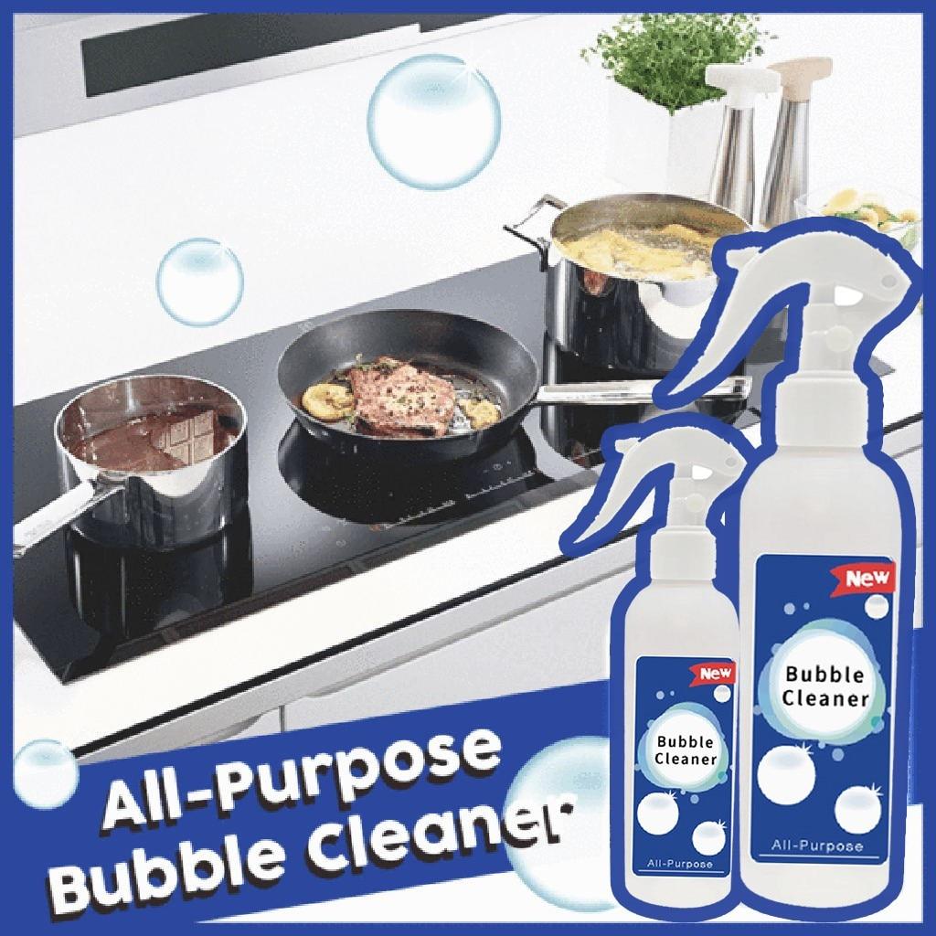 Товары для домашней уборки, 200 мл, кухонный смазочный очиститель, многоцелевой пенный очиститель, универсальный пузырьковый очиститель, Уни...