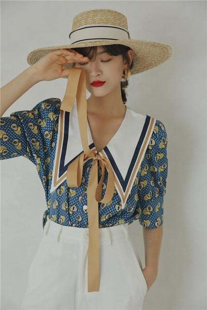 Vintage Summer Blouse  2