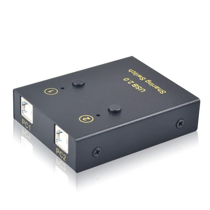 USB-переключатель для печати с 2 USB-входами и 2 USB-выходами для принтера