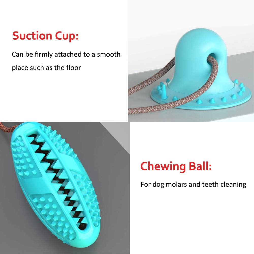 suction cup dog ball
