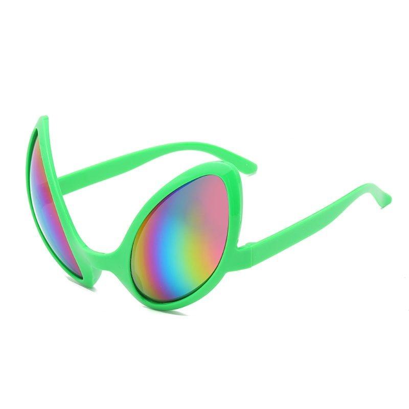 Funny Aliens Costume Glasses Rainbow Lenses  ET Sunglasses Halloween Party Props F3MD