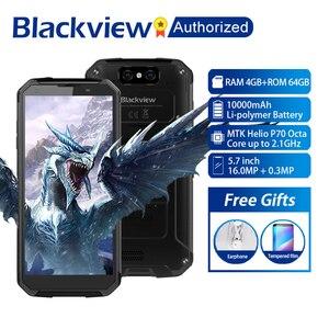 "Image 1 - Blackview BV9500 Plus Handy Android 9,0 Octa Core 5.7 ""Helio P70 4GB RAM 64GB ROM IP68 wasserdicht 4G Smartphone NFC OTG"