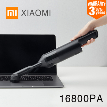 XIAOMI Cleanfly FV2 Portable Car Hand Helded Vaccum Cleaner for home wireless Mini Dust Catcher Collector 16800Pa Suction