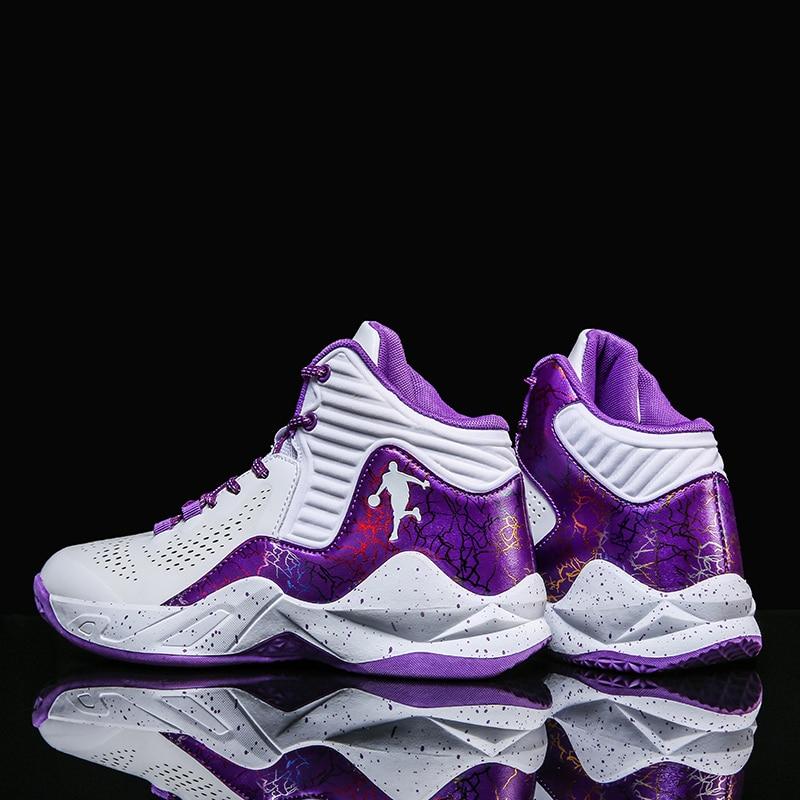 Zapatillas De Baloncesto Ligeras Y Transpirables Para Hombre, Calzado Para Deportes Al Aire Libre, Botines De Entrenamiento