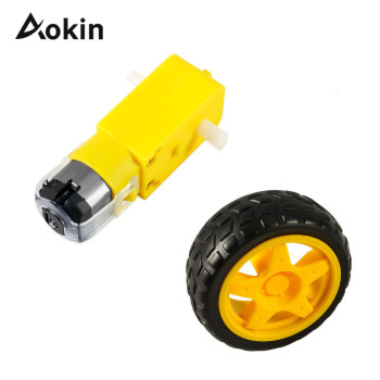 TT Motor Smart Car Robot Gear Motor for arduino Diy Kit Wheels Smart Car Chassis Motor Robot Remote Control Car DC Gear Motor image