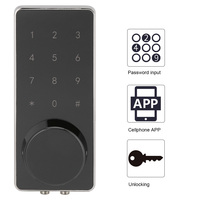 Smart Electronic Door Lock APP Unlock Bluetooth Anti Theft Lock Set With Keys And AccessoriesSuitable For Rental House Hotel