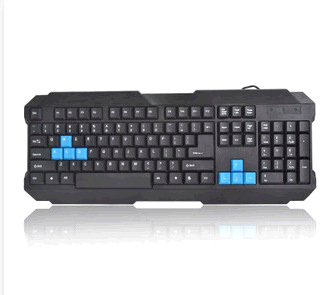 Q19 Profession Gaming Keyboard Cool ZHUIGUANGBAO Keyboard Game Players Keyboard USB Interface