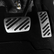 For  BUICK car pedal gas foot rest stainless modified pad non slip performance aluminium fuel