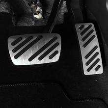 купить For  BUICK car pedal gas foot rest stainless modified pad non slip performance aluminium fuel по цене 442.2 рублей