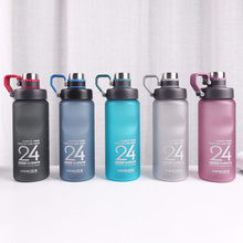 Get more info on the Kettle 850ML large capacity plastic water dispenser travel student outdoor sports school portable scrub leak cup drinking bottle