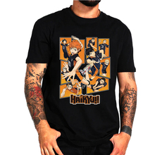 Men T-Shirt Manga Anime Haikyuu Bokuto Kuroo Short-Sleeved Volleyball Shoyo
