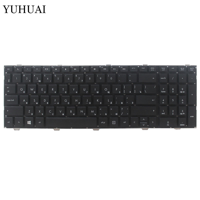 Image 2 - New Russian Laptop keyboard For HP probook 4540 4540S 4545 4545S 4740 4740S noframe Black RU keyboard-in Replacement Keyboards from Computer & Office on