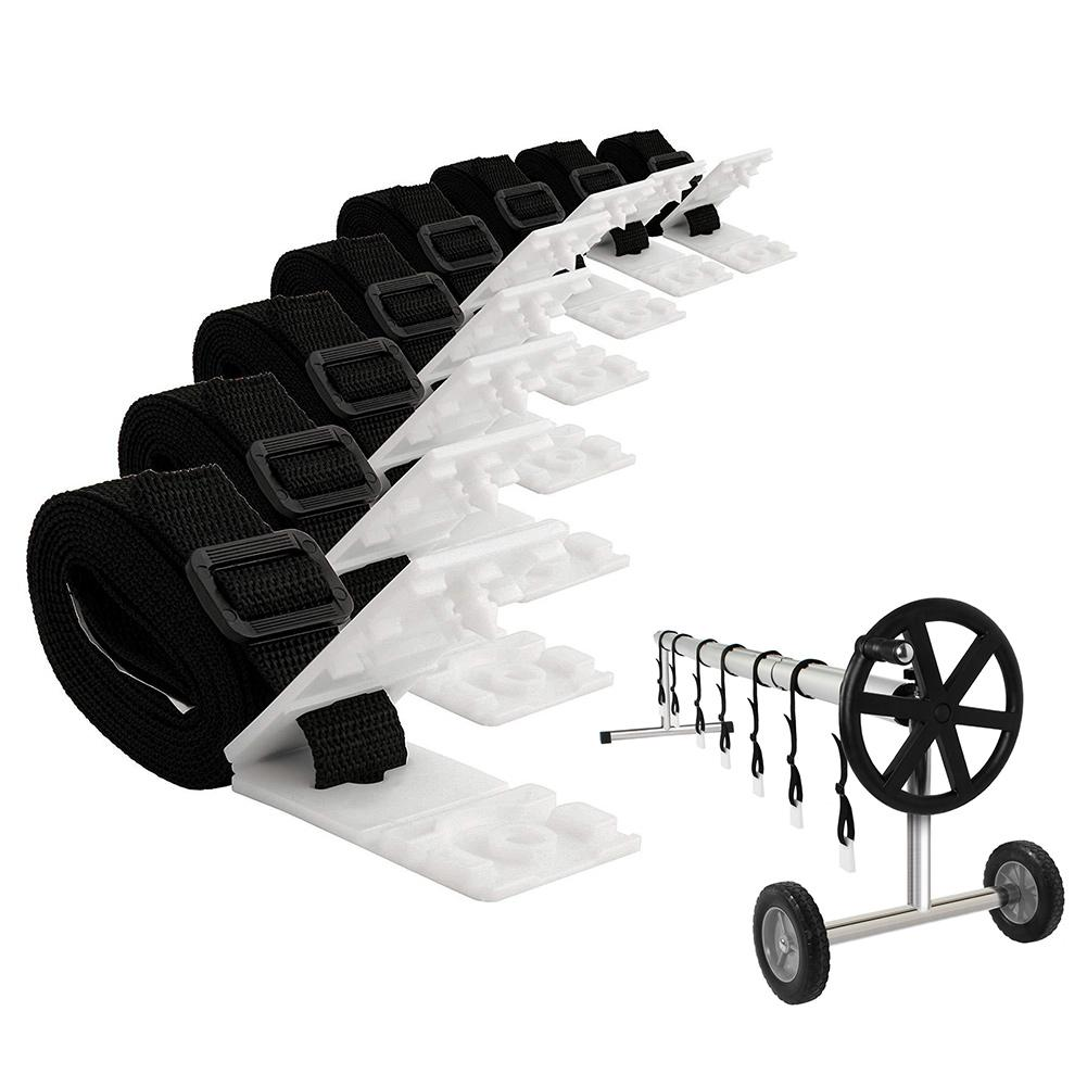 Solar Cover Reel Attachment Kit Firm Sturdy Swimming Pool Solar Reel Tube Covers From 10ft To 24ft Wide And More