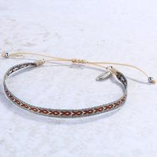 Bangles String-Bracelets Jewelry Wrap-Cuff Charm Stacking Bohemian Fashion KELITCH Rope