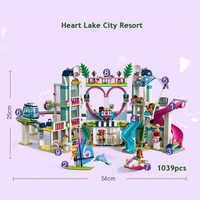 01068 Legoinglys Friends Heartlake City Resort 41347 Top Hotel Building Blocks Kit For Kids Fun Toys Set For Girls Christmas