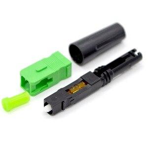 Image 3 - GONGFENG conector rápido de fibra óptica FTTH, 100 Uds., nuevo conector rápido de grado portador de modo único integrado, venta al por mayor especial