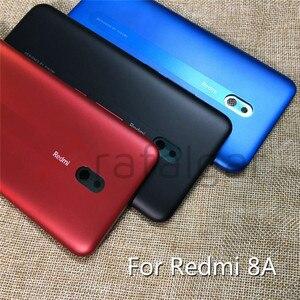 Image 3 - Funda trasera para Xiaomi Redmi 8 8A, carcasa trasera para Redmi 8, reemplazo para teléfono móvil