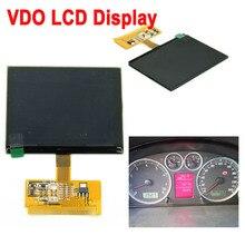Bom em estoque display lcd substituição para audi a3 a4 a6 s3 s4 s6 para vw vdo lcd cluster painel do carro reparação de pixels