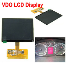 Good  In Stock LCD Display Replacement for Audi A3 A4 A6 S3 S4 S6 for VW VDO LCD Cluster Car Dashboard Pixel Repair