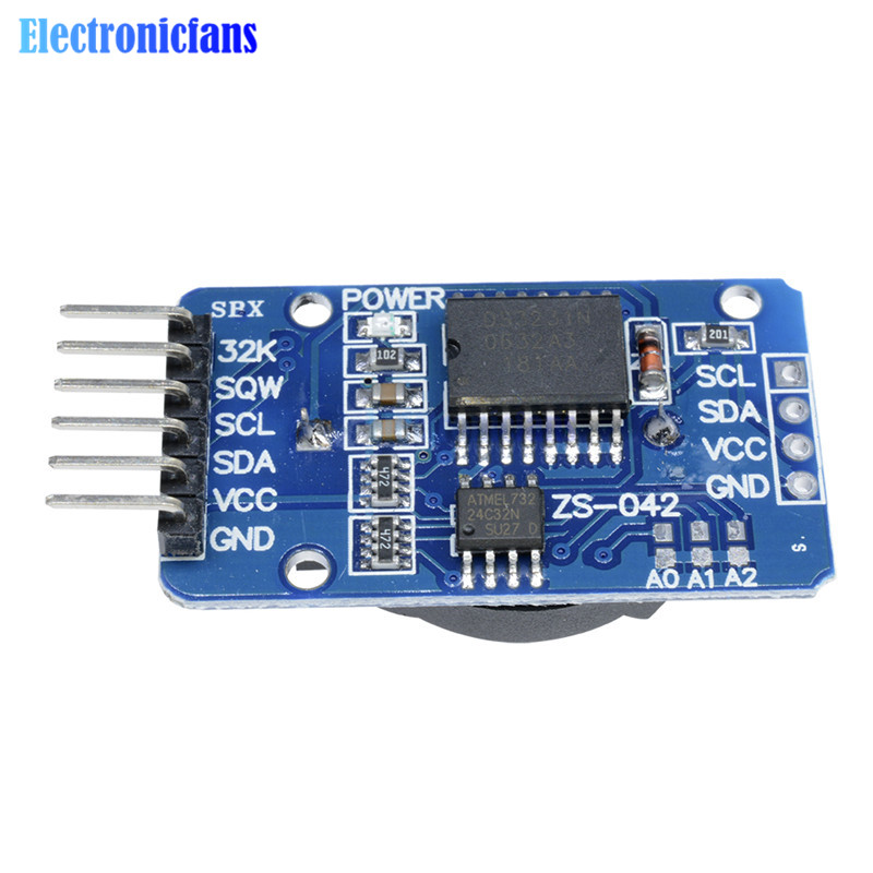 1PCS DS3231 AT24C32 IIC Precision RTC Real Time Clock Memory Module For Arduino  new original