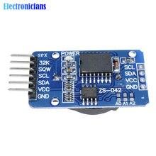 1 sztuk DS3231 AT24C32 IIC precyzja RTC zegar czasu rzeczywistego moduł pamięci DS3231SN AT24C32 Mini moduł pamięci czasu rzeczywistego dla Arduino