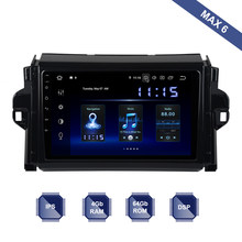 Android 9,0 Radio de coche 2 Din GPS Navi para Toyota Fortuner 2016, 2017 de 2018 PX6 DSP IPS HDMI 4Gb + 64Gb RDS WIFI BT USB Carplay DAB +(China)
