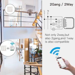 Image 4 - Tuya vie intelligente app WiFi commutateur de lumière intelligente Module de disjoncteur bricolage APP télécommande fonctionne avec Amazon Echo Alexa Google home