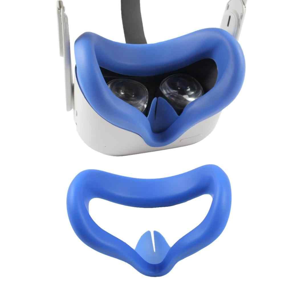 3 Colores Almohadilla Ocular Lavable Evita Fugas de luz Almohadilla Ocular c/ómoda Antideslizante Que Absorbe el Sudor Wisson Cubierta Ocular de Silicona VR para Oculus Quest 2