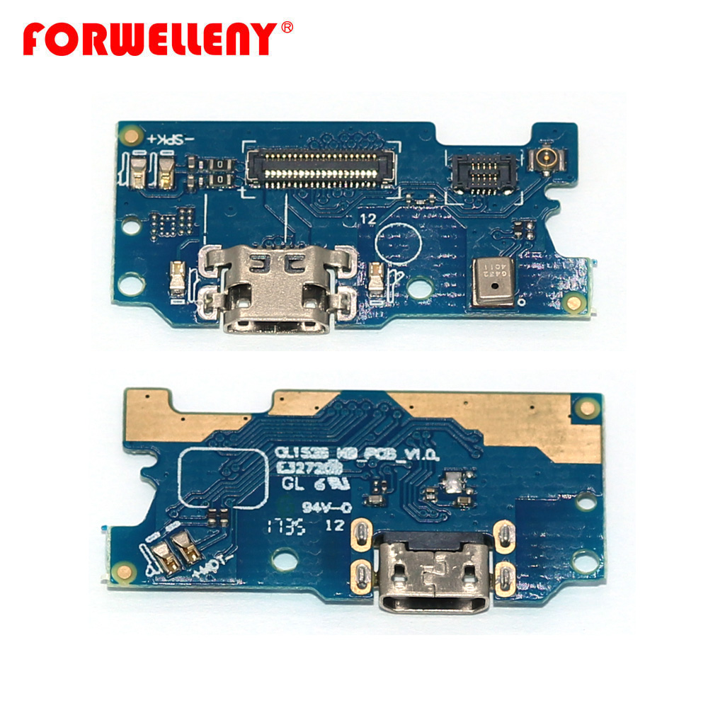 For Asus Zenfone 4 Max ZC520KL Charger Port USB Charging Port Dock Connector Circuit Board With Microphone Vibrator Motor