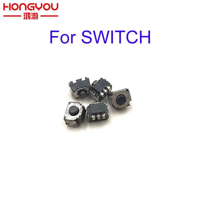 10pcs Micro Switch L R Button for Nintend Switch LR Button Press Microswitch for Switch NS Joy con Joystick