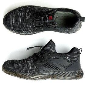 Image 4 - Mwsc s3 sapatos masculinos para construção, botas de segurança do trabalho para homens com bico de aço, seguro indestrutível e anti esmagamento tênis para mulheres