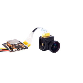 Hawkeye Firefly Mini 4K podział kamery HD nagrywanie 170 stopni kamera FPV w Mic DVR krótki czas oczekiwania wyjście wideo dla RC Racing Drone tanie i dobre opinie Fimonda EACHINE Hawkeye Firefly 4K Split Cam 19 x 19mm Caddx Tarsier Caddx turtle V2 RunCam Hybrid 4K