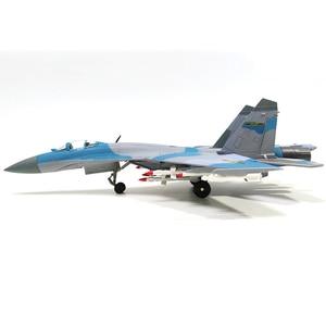 Image 3 - 1/72 스케일 합금 전투기 sukhoi Su 35 중국 공군 항공기 모델 완구 어린이 키즈 컬렉션 선물
