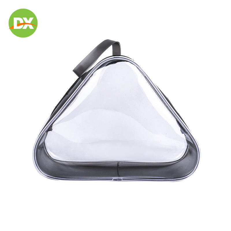Free Shipping Transparent Waterproof Fashion PVC Cosmetic Bag Portable Travel Packing Zip Lock Plastic Storage Bag Girl Make Up in Storage Bags from Home Garden