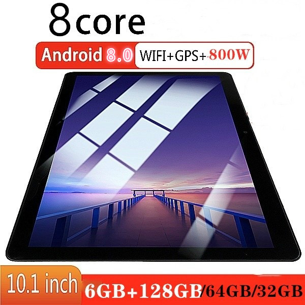 2.5D IPS Screen Tablet Pc Android 8.0 Octa Core 10 Inch  6G+32/64/128GB Wifi Dual Sim Card Call Phone Tablets