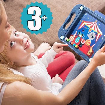 Children Balance Ball Maze Board Puzzle Cartoon Card Baby Montessori Maze Balance Game 3D Educational Toys Gift For Toddlers 1