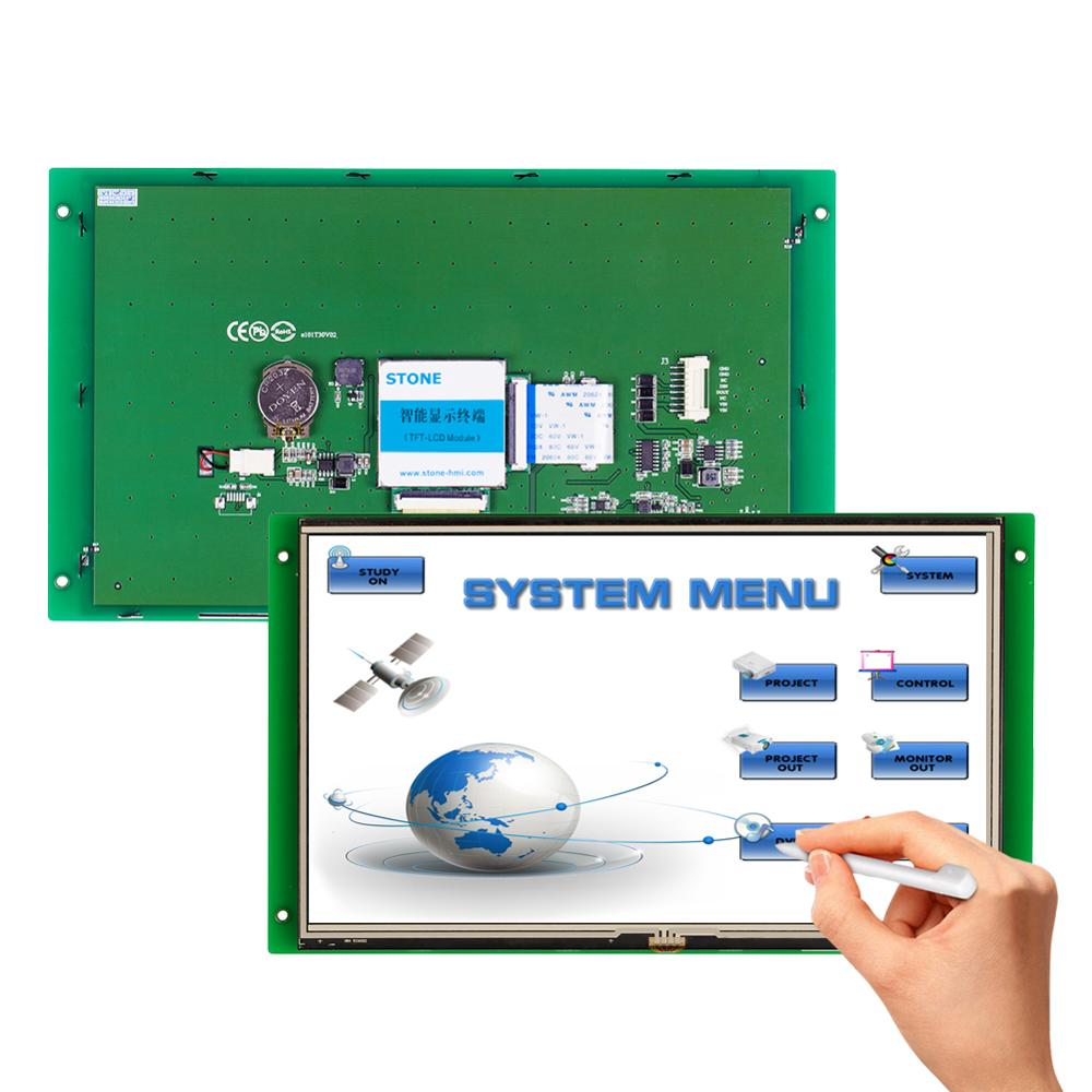 STONE 10.1 Inch TFT LCD Display Module With Embedded System+Software+Program For Equipment Use