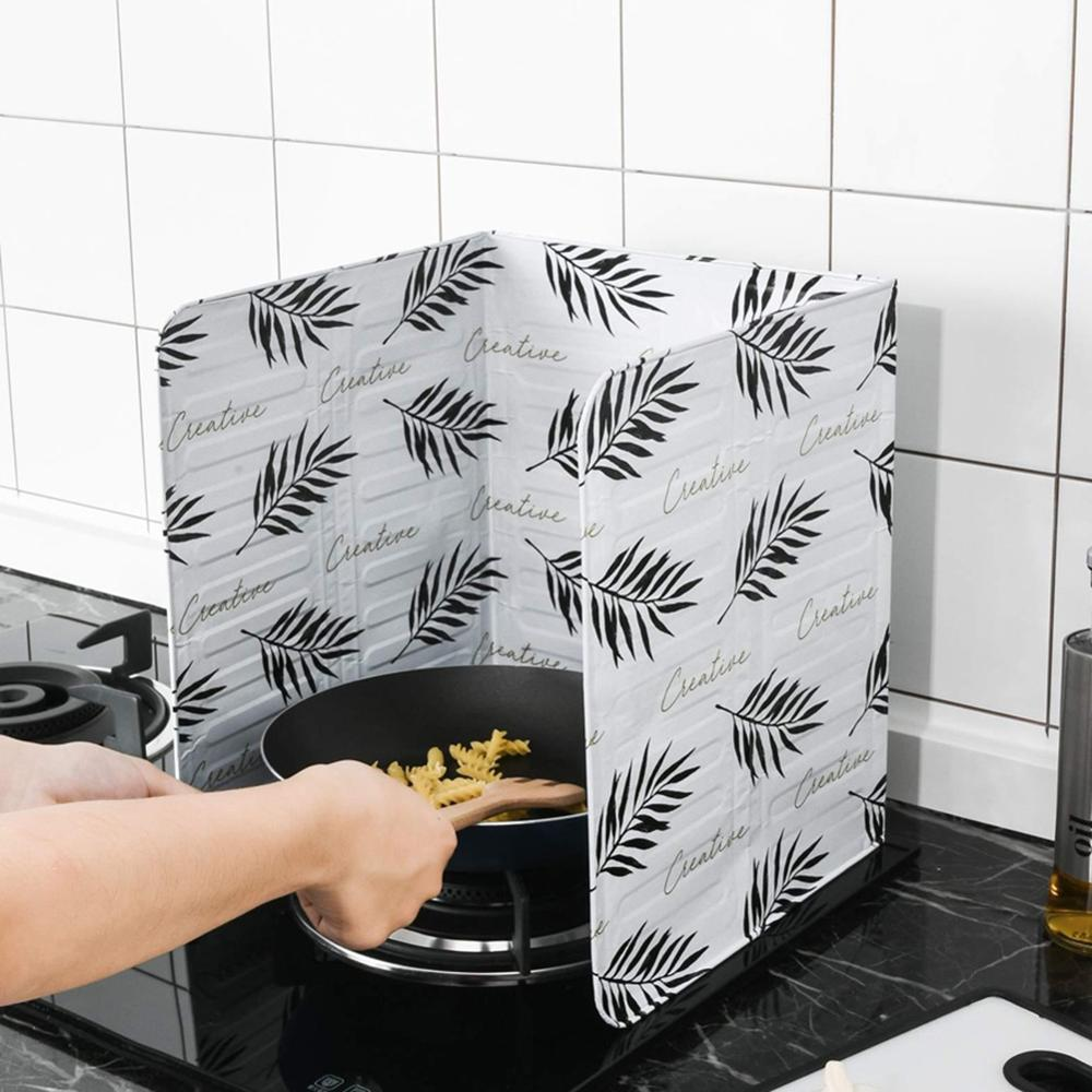 Insulation-Board Kitchenware Splash-Guard Grease Oil-Baffle Gas-Stove Wall-Oil Aluminum-Foil