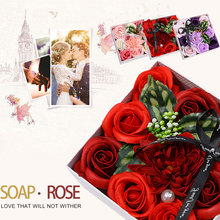 Immortal Rose Soap Flower Gifts Greeting Celebration MotherS Day Gift Boxed Beautiful Romantic Home Decoration