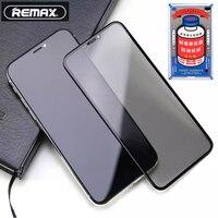 Remax Gehärtetem Glas für iPhone X XS / Xs Max / 11 /11 pro Volle Abdeckung Gebogene 3D Screen Protector explosion-proof Anti Scratch