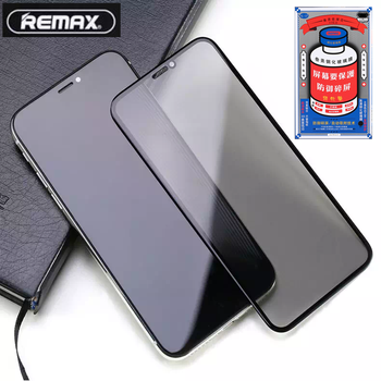Remax Tempered Glass for iPhone 12 / X / Xs Max / 11 /11 pro Full Cover Curved 3D Screen Protector E