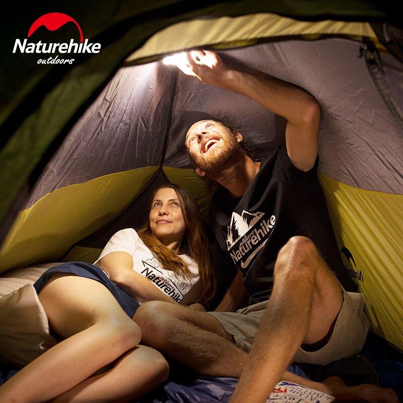 Naturehike LED Outdoor Portable Light Hiking Camping Tent Lamp USB 1300 Lumen Flashlights 9000MAH Power Bank Outdoor Gadget - 5