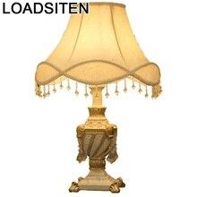 Abajur Decoracao Casa Lampada Comodino Chevet Chambre Lampe Para El Dormitorio Lampara De Mesa Maison Deco Table Bedside Light