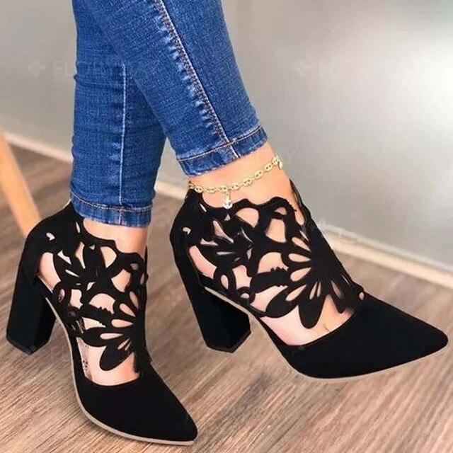 Ladies Retro Concise Shoes