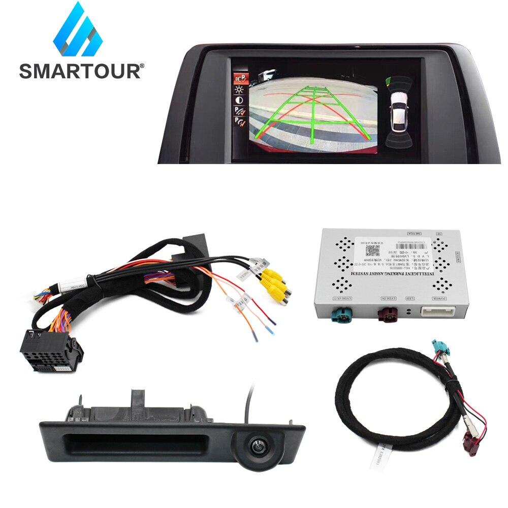 For bmw nbt system Reverse decoder module f10 f20 f30 f31 f34 f35 f15 f25 f56 reversing image car camera interface 2011-2018(China)