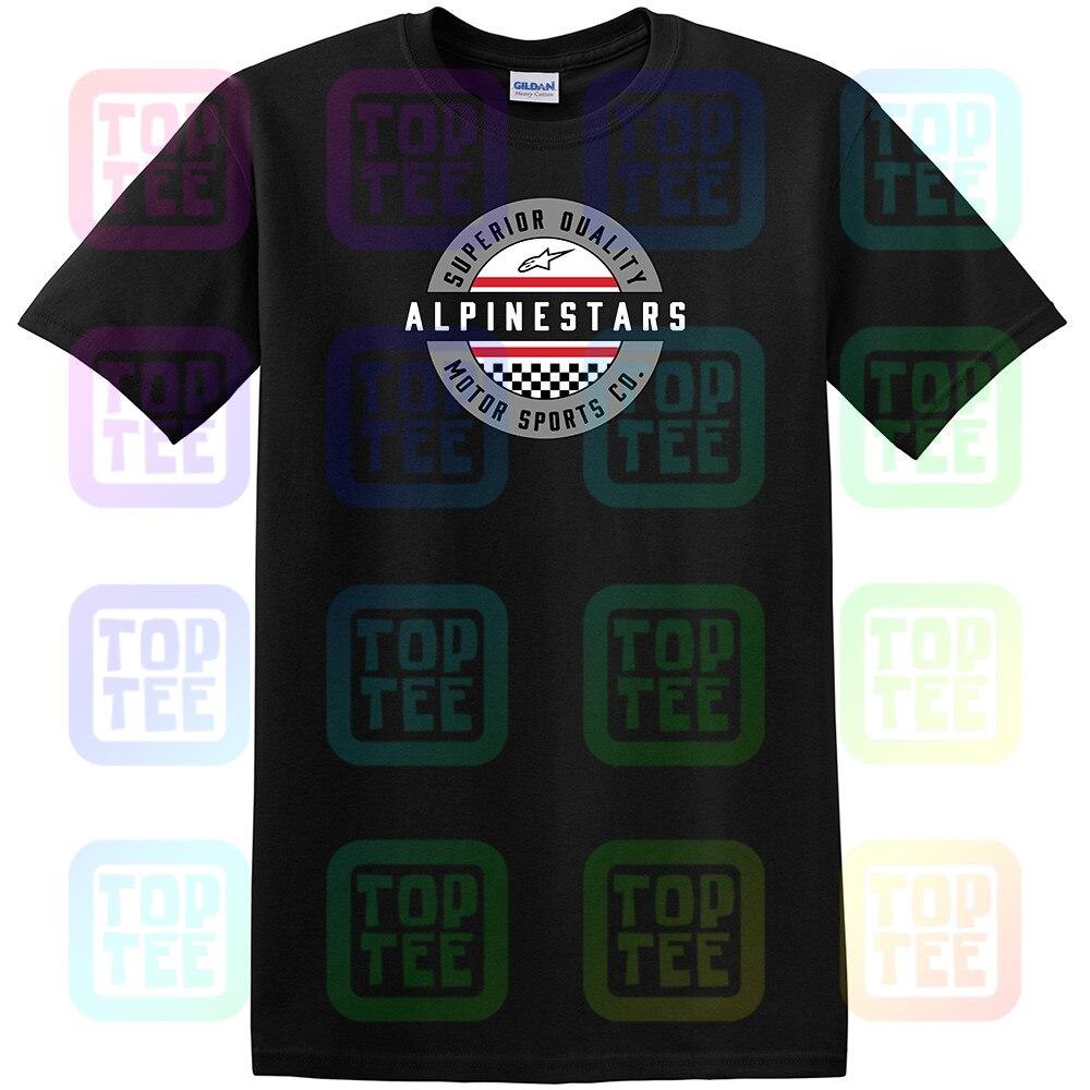 Alpine Star T Shirt Black - 1047-72020