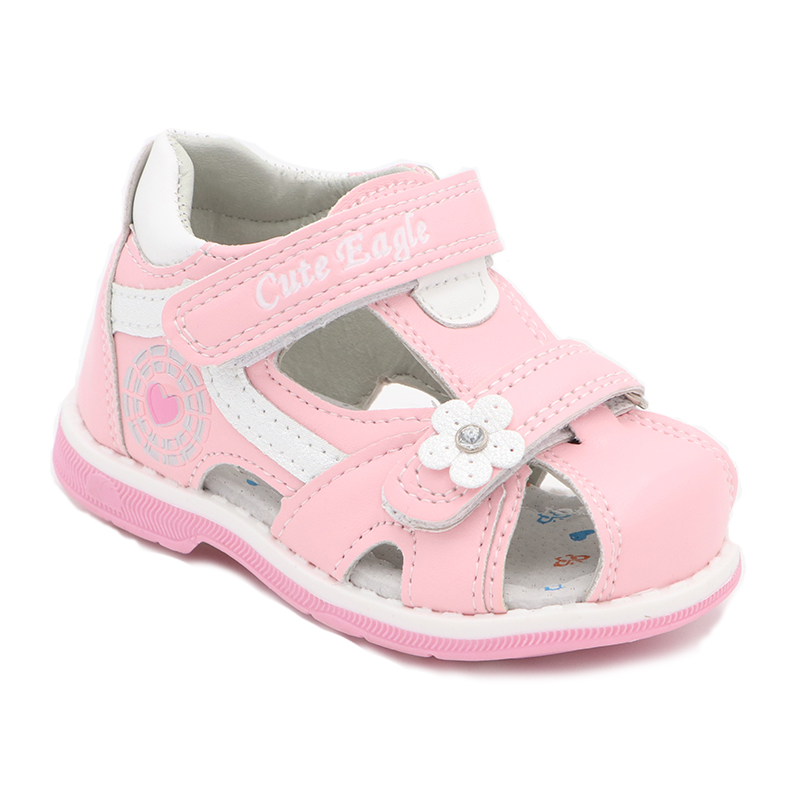 Girls Sandals Summer Flowers Sweet Soft Children's Beach Shoes  Toddler Girls Sandals Orthopedic Princess Fashion High Quality