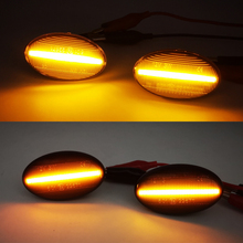 1Pair For Mercedes Benz Smart W450 W452 A Class W168 Vito W639 W447 W415 LED Car Side Marker Lights Repeater Signal Lights