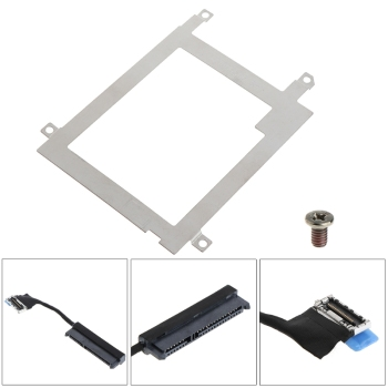 Hard Disk Drive Caddy Tray Bracket SATA Cable Connector For Dell Latitude E7440 px60024 for dell vostro 260s inspiron 620s optiplex 7010 dt hard drive caddy tray
