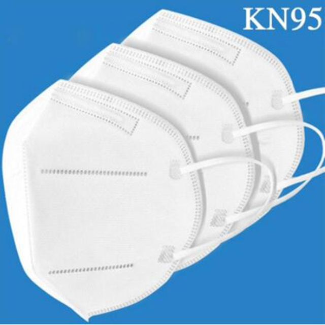 50PCS Mask KN95 Face Mask Dustproof Anti-fog And Breathable Disposable KN95 Mask Safety Protective Masque KN95 Mouth Mask White 2